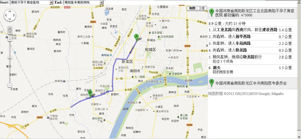 javascript利用谷歌地图开发路线图示例